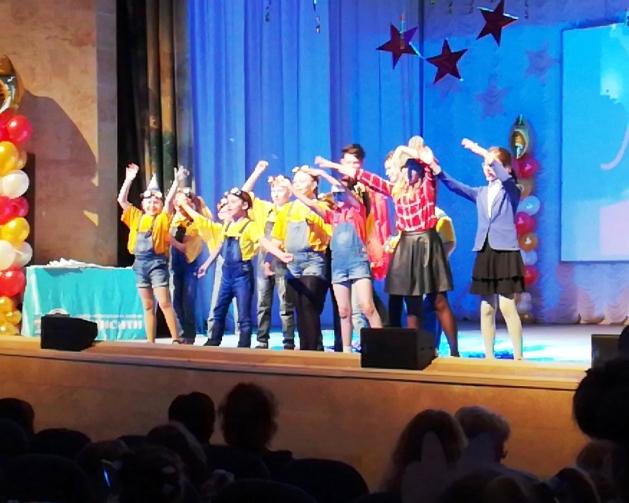 """Победители """"Юнисити-шоу"""", группа учеников Антиповой А.А."""