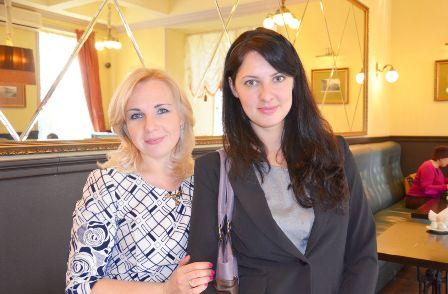 Black and white Алла Викторовна и Александра Павловна